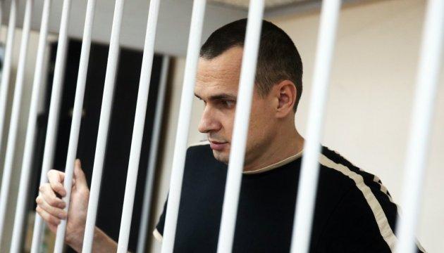 Собчак заявила, что ей не удалось уговорить Сенцова прекратить голодовку
