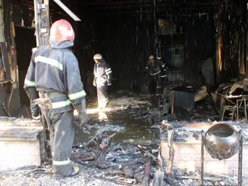 В Черкасской области из-за пожара в помещении лотереи погиб человек (ФОТО, ВИДЕО)