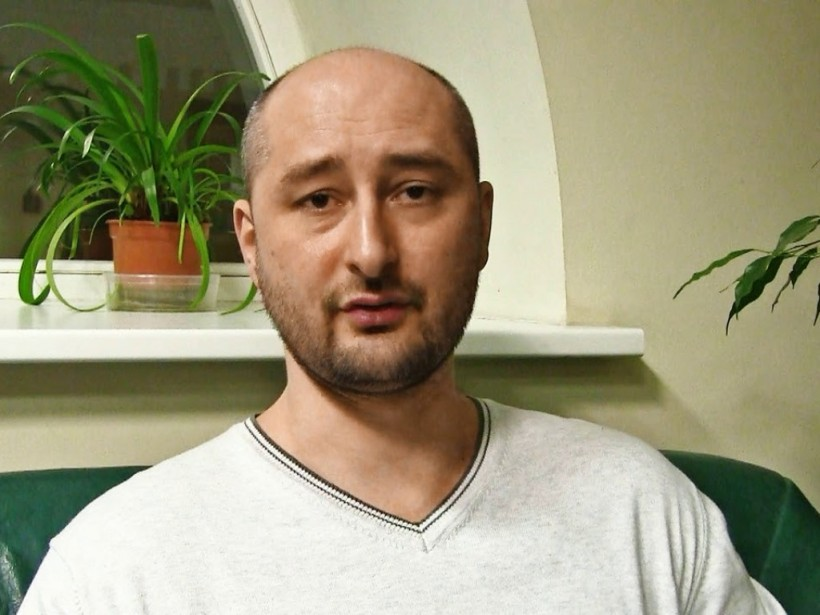 Журналист Аркадий Бабченко жив