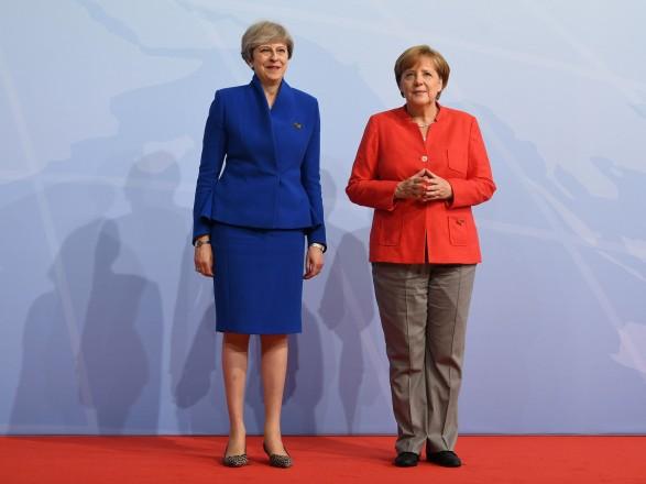 В Лондоне назвали продуктивной встречу Мэй и Меркель