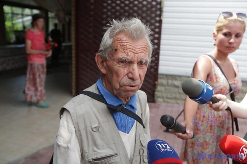 На Киевщине прощаются с Левком Лукьяненко