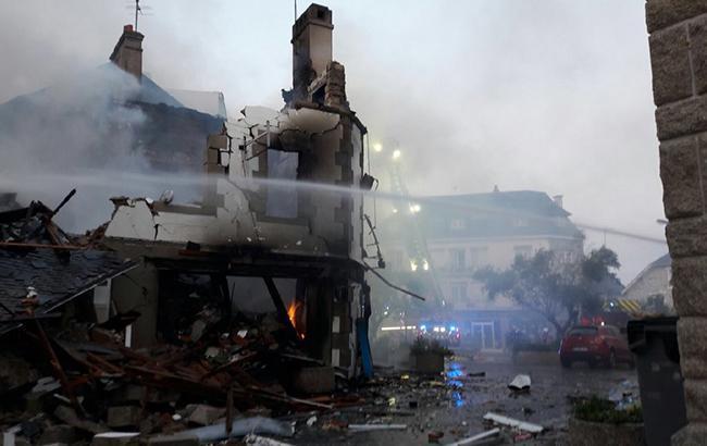 Во Франции в магазине произошел взрыв газа, пострадали 10 человек