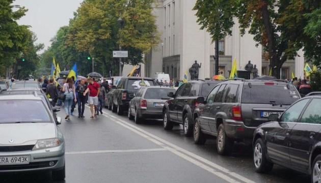 """В правительственном квартале задержали одного из участников """"АвтоЕвроСилы"""""""