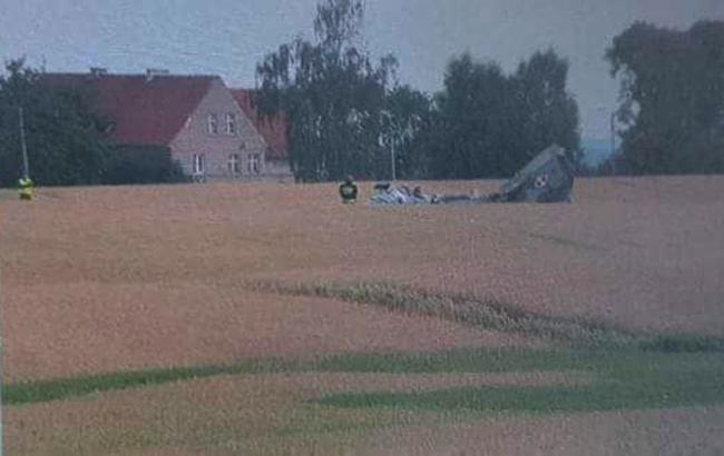 В Польше разбился боевой истребитель МиГ-29