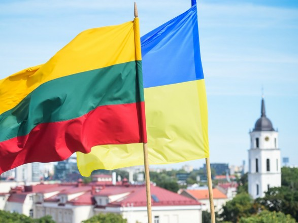 Грибаускайте на украинском языке поздравила с Днем Независимости