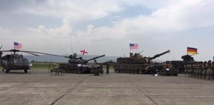 В Грузии стартовали военные учения Noble Partner 2018