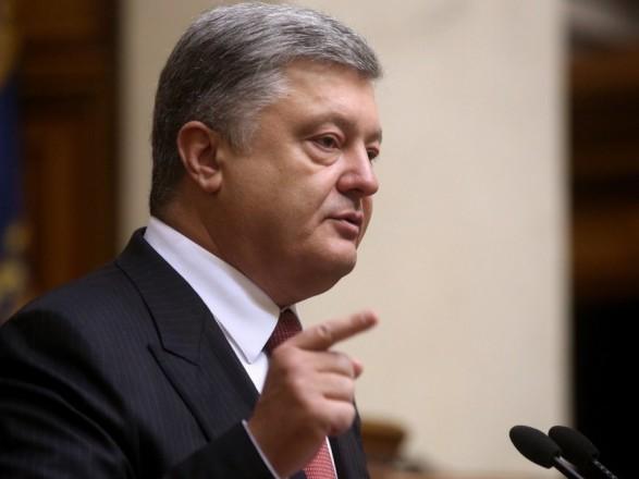 Санкции немного вправляют мозги Москве - Порошенко