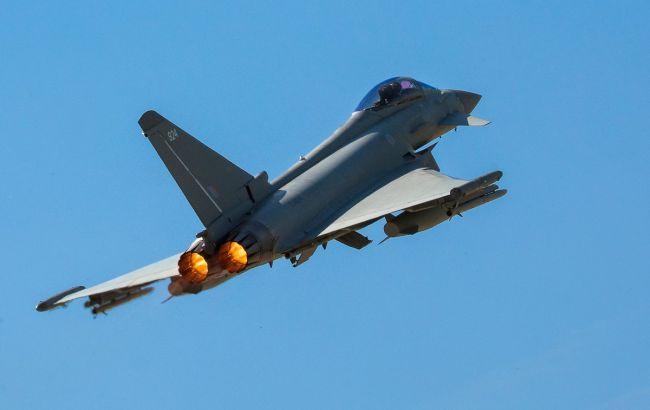Британские истребители перехватили российский военный самолет над Черным морем