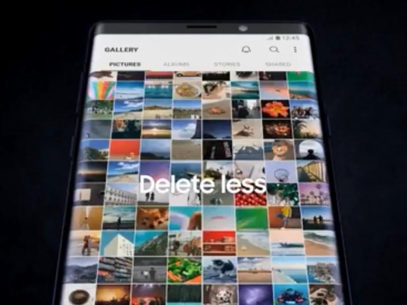 Samsung случайно опубликовала в сети видео с новым смартфоном