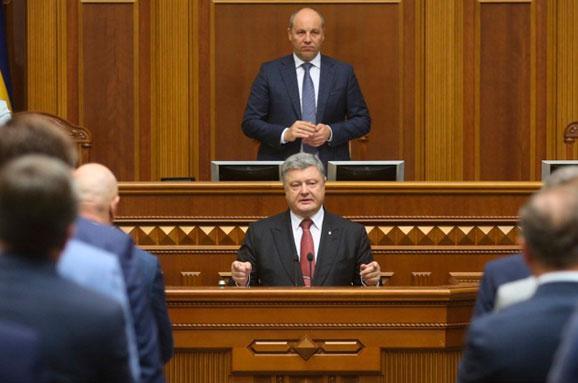Порошенко в сентябре направит в ВР свое ежегодное обращение к депутатам