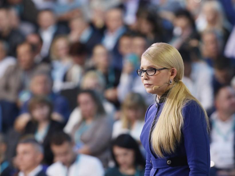 Тимошенко: Социальная рыночная экономика - это развитие среднего класса и поддержка наименее защищенных