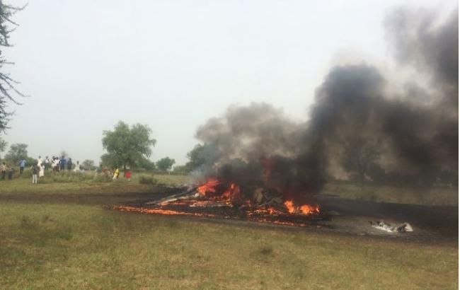 В Индии разбился истребитель МиГ-27