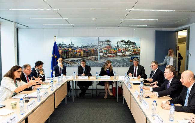 ЕС и США начали торговые переговоры на высоком уровне