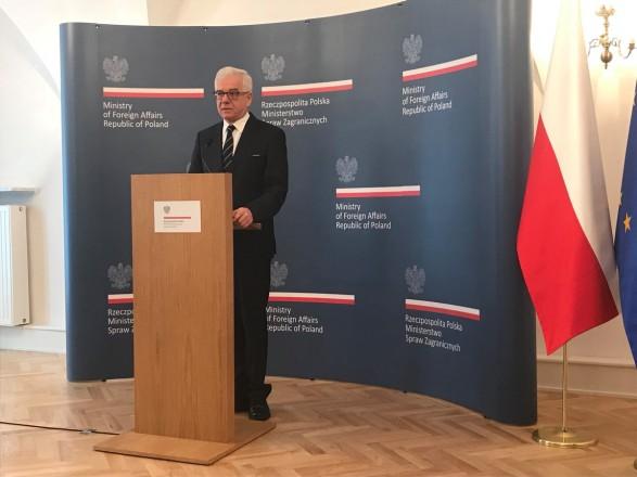 В МИД Польши заверили, что уволили почти всех сотрудников с российскими дипломами