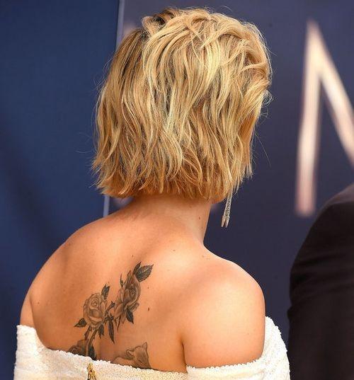 Скарлетт Йоханссон удивила новой большой татуировкой (ФОТО)