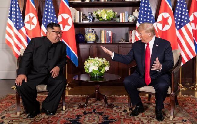Трамп пообещал скорую встречу с Ким Чен Ыном