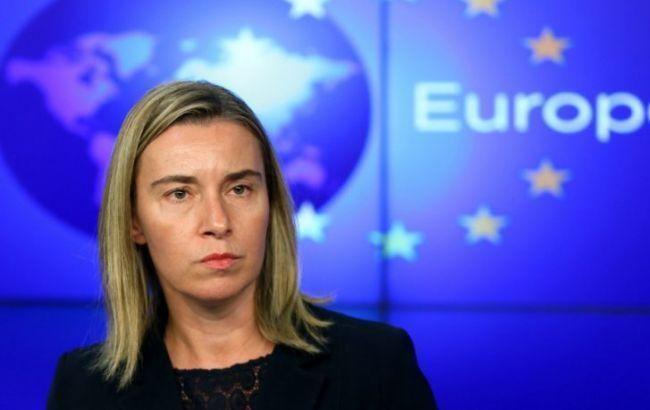 Могерини в ЕП не упомянула о новых санкциях против РФ за строительство Керченского моста