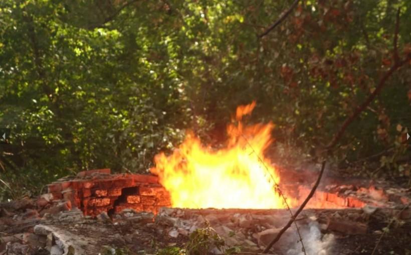 Прорыв газопровода в Сумской области: пламя высотой более 10 метров и жертвы (ФОТО, ВИДЕО)