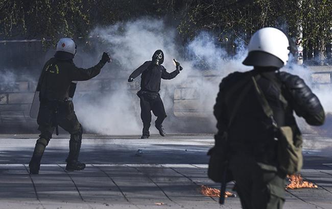 В Афинах произошли столкновения между студентами и полицейскими