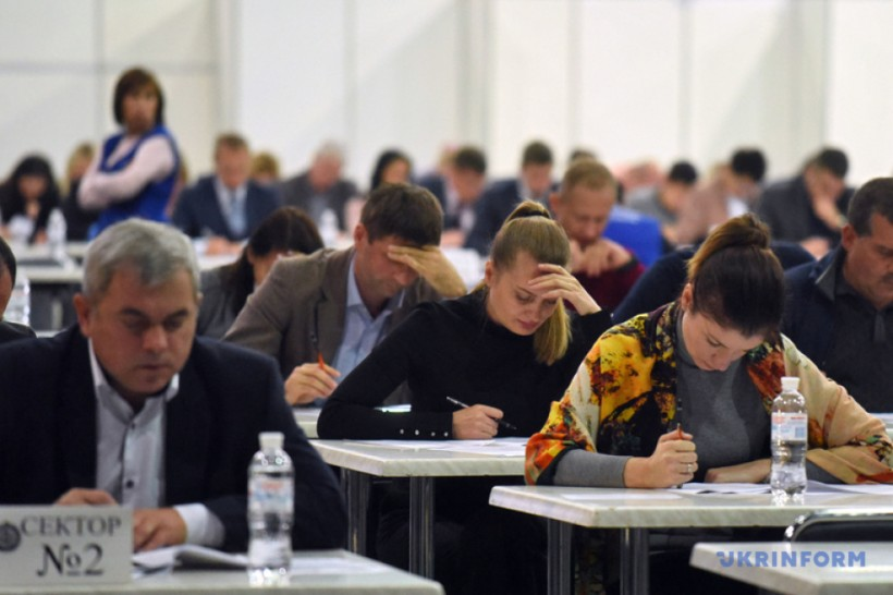 На экзамен в IP-суд пришли чуть больше половины кандидатов