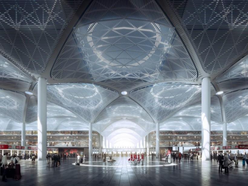 В Стамбуле прошла церемония открытия самого большого аэропорта в мире (ФОТО, ВИДЕО)