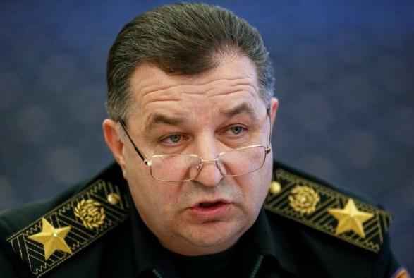 Степан Полторак уволился с военной службы