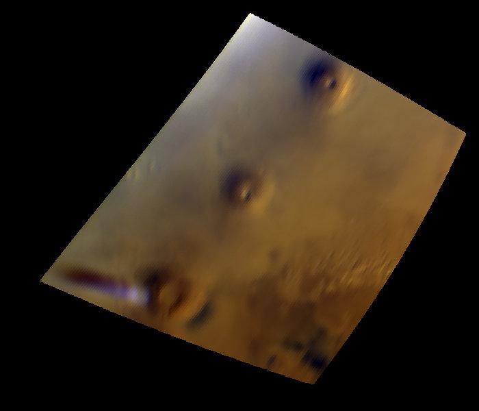 Странное одиночное облако над Марсом насторожило ученых (ФОТО)
