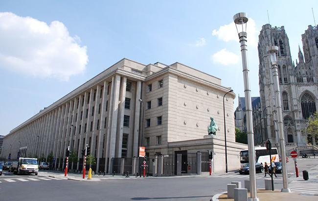 В Бельгии эвакуировали здание Национального банка