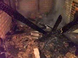 Огонь уничтожил кровлю: в Киевской области мужчина обгорел в бане (ФОТО)