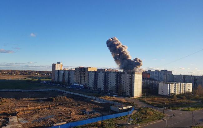 В РФ произошел взрыв на заводе пиротехники