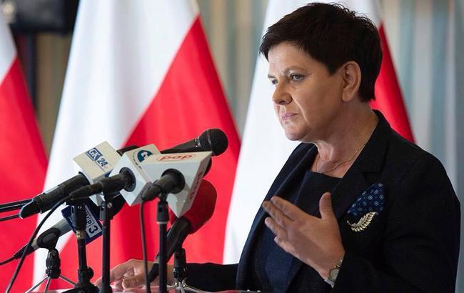 Вице-премьер Польши Шидло попала в ДТП