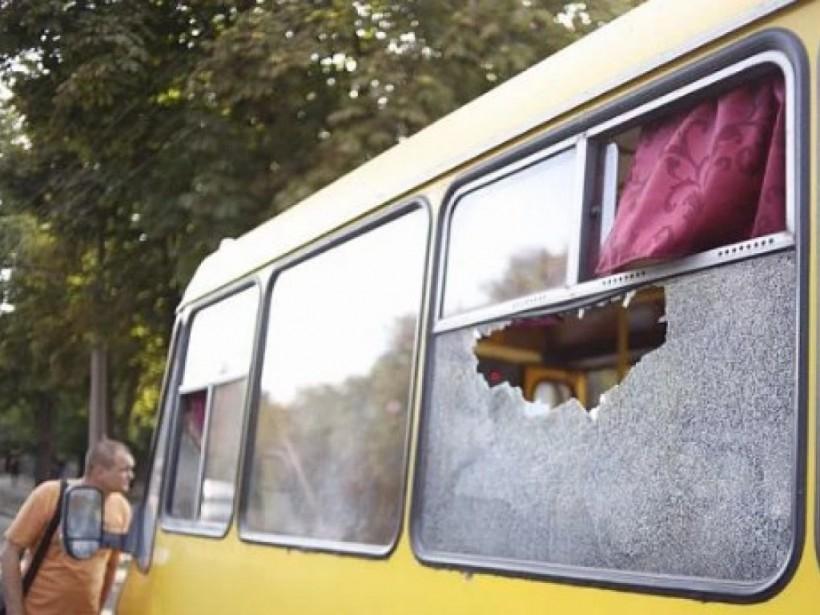 В Кривом Роге в маршрутке взорвался огнетушитель:  пострадали два человека (ФОТО)