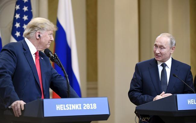Трамп приглашает Путина в 2019 году посетить Вашингтон