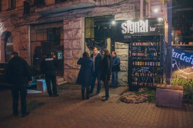 В Киеве люди из элитного Maybach устроили стрельбу возле бара: ранен прохожий (ФОТО, ВИДЕО)