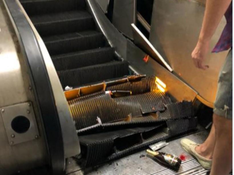 Авария в римском метро: люди выпрыгивали на балюстрады (ВИДЕО)