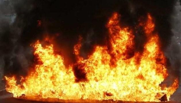 Ночной пожар в столичном отеле тушили почти 3 часа