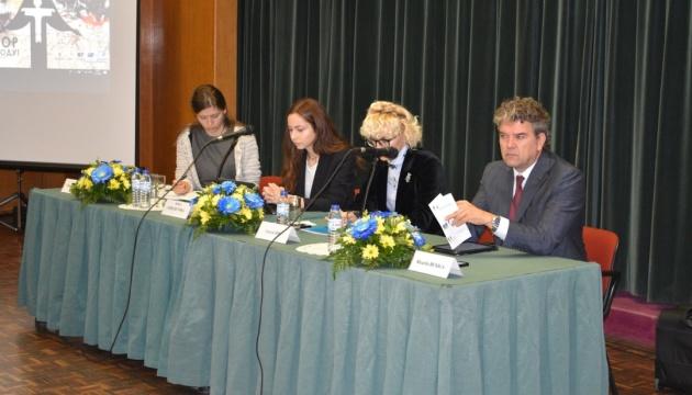 Представительница МИП рассказала о Голодоморе на международной конференции в Лиссабоне