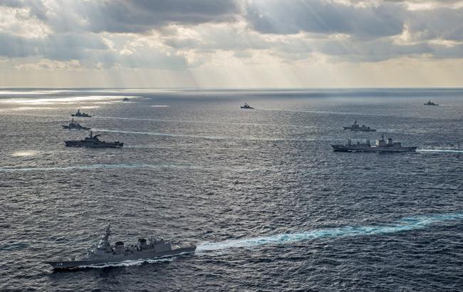 Вооруженные силы США и Японии начали совместные военные учения
