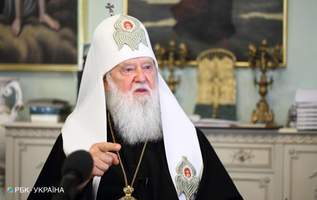 Филарет уверен, что Украина достигнет объединения всех православных церквей в одну