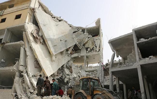 Сирия требует от ООН остановить авианалеты американской коалиции
