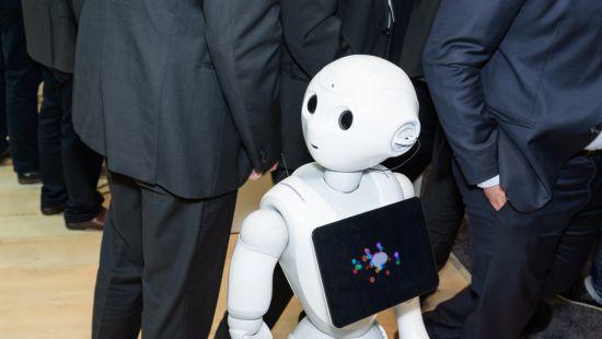 """Роботизированный """"человек"""" будет докладывать британском парламенте"""