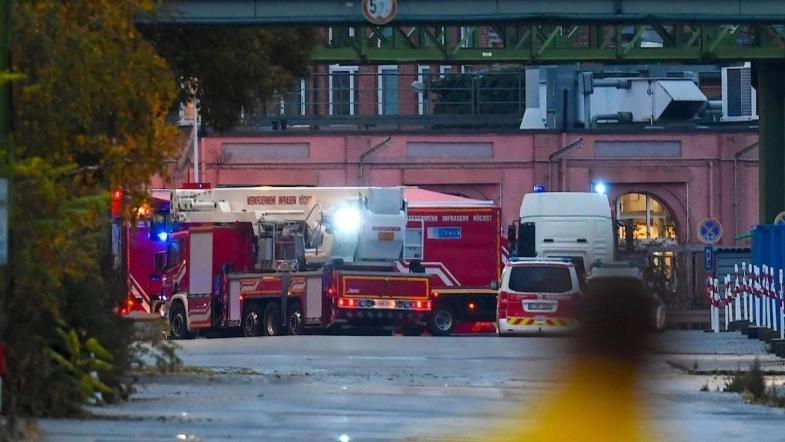 В Франкфурт-на-Майне перевернулась фура с соляной кислотой (ФОТО)