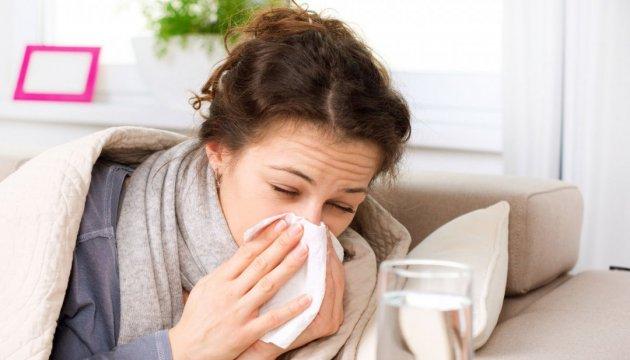 Украинцы болеют гриппом и ОРВИ, однако эпидемии нет