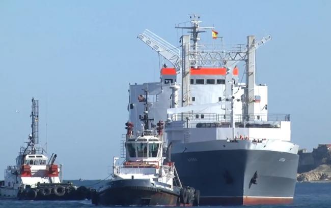 Российские военные корабли зашли в испанский порт Сеута после двухлетнего перерыва