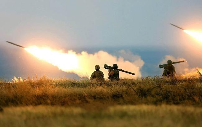 Боевики днем обстреливали укранских военных из гранатометов, - ООС