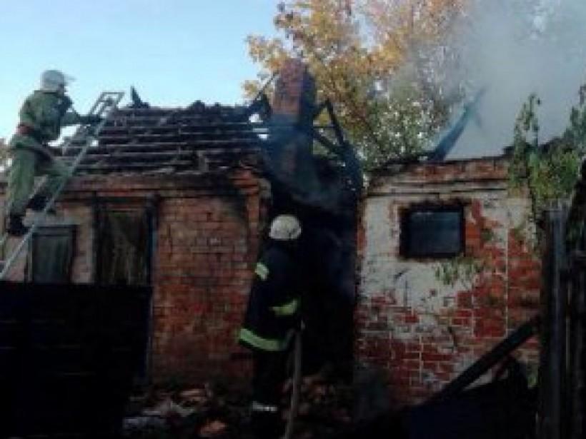 На Днепропетровщине в собственном доме сгорел мужчина (ФОТО)