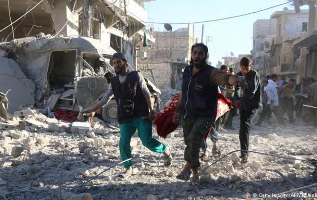 Боевики обстреляли Алеппо химическими снарядами