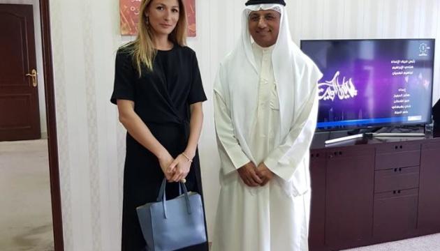Джапарова будет договариваться о сотрудничестве UA|TV с кувейтским вещателем