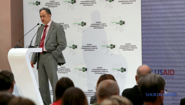 В Украине уровень доверия гражданского общества вырос почти до 40% — Мингарелли