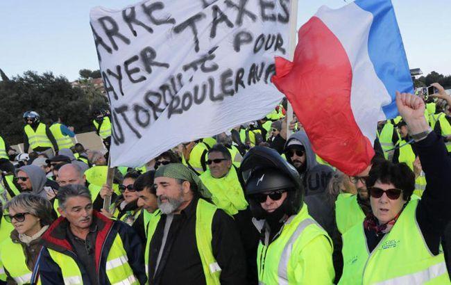 Протесты во Франции: полиция применила водометы и слезоточивый газ